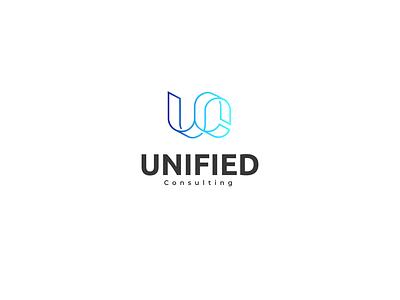 unified technology icon logos business branding logo brand vector illistration design