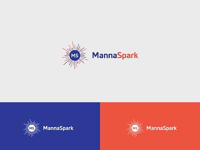 Manna s letter logo m letter logo ms modern logo technology business logos branding logo brand vector illistration design