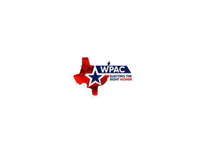 Wpac women politician pca logo usa vote texas modern logo business logos branding brand logo vector illistration design