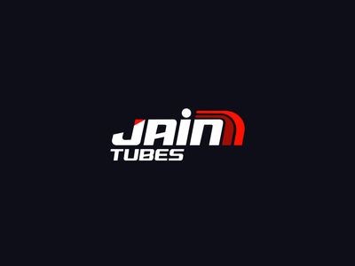 Jain tubes company construction logo construction modern logo logos branding brand logo vector illistration design