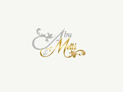 Abu & Elli woman handlettering drawing photography logo photography wedding wedding logo logos branding brand logo vector illistration design