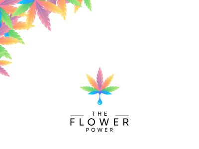 the flower power logo