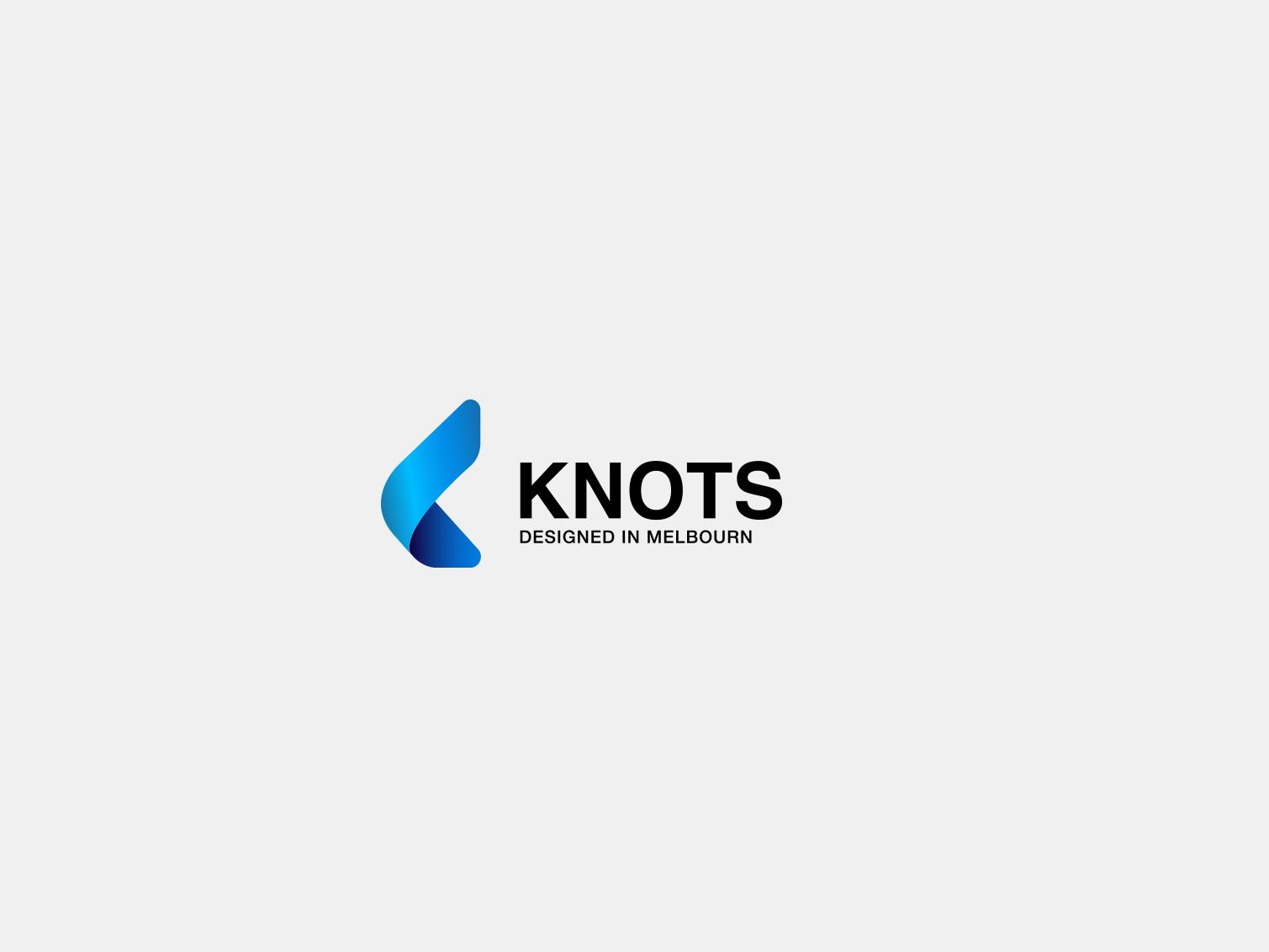 knots logo wonderful k logo modern shoes fashion brand card icon branding vector logo brand illistration design