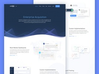 Enterprise Acquisition - Landing Page