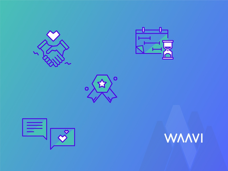 Values' Waavi icon iconset services web developement web development mobile app development apps product consulting ux  ui