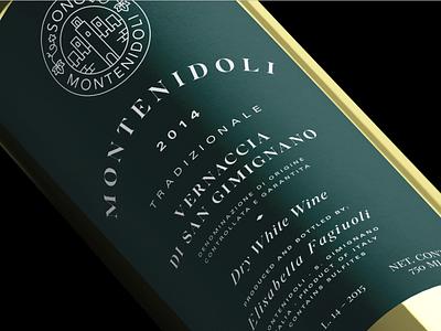 Tradizionale Wine Label Restyling wine label wine labels bottle beverage typography branding logo design logotype packaging label packaging logo label