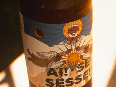 Packing | Ai! Se Sêsse! brazil beer art graphic graphicdesign surface design visual art beer packing design visual design illustration design
