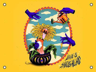 LAVE O SABUGALHO - Illustration patterns awareness campaign smiley face hand colorful illustrator brushes photoshop texture illustration