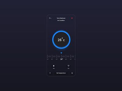 UI | Air condition System control airconditon air condition design ux design ux ui  ux uiux uxdesign uidesign ui
