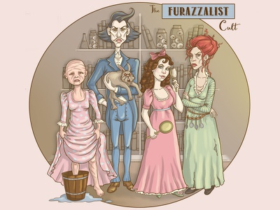The Furazzalist Cult game art photoshop illustration