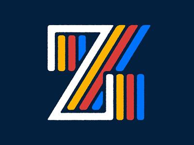 36DOT 2020 · Z graphic  design design drop cap font type typography letter alphabet lettering 36daysoftype