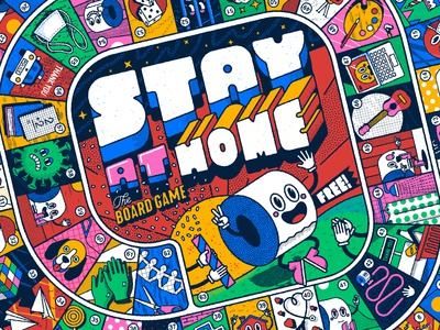 Stay at home, the board game II