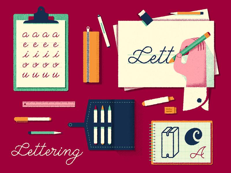 Skills · Lettering