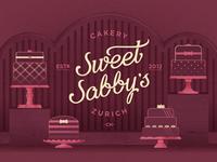 Sweet Sabbys illustration