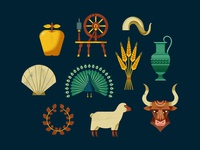 Mythology icons I