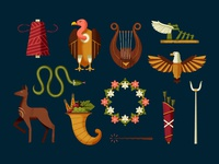 Mythology icons II