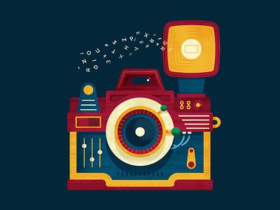 Xerais Mellora II lomo photoshop camera textbook illustration