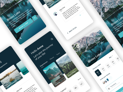 Travel App Concept photo sports map blue modern flat uidesign search travel app android ios adventures travelling travel mobile ux clean interface app ui