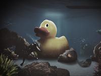 Sunken Rubber Duck