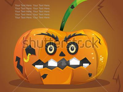 Stock vector halloween pumpkin 152260559