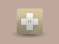 H Icon by Subcutaneo