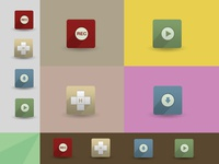 Flat Icon Set by Subcutaneo