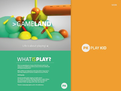 Gameland - Play Kid Ad