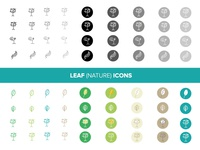 Leaf (Nature) Icons