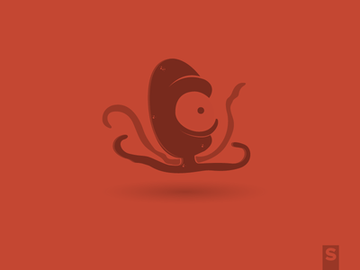 Octopus pulpo pulp character iconography icon illustration octopus