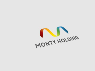 Monty Holding logo design logo logo design graphic design colorful logo corporate identity branding