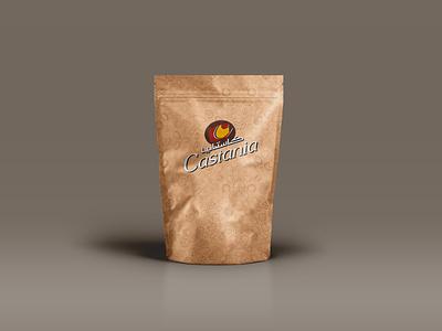 Castania nuts graphic design design redesign packaging