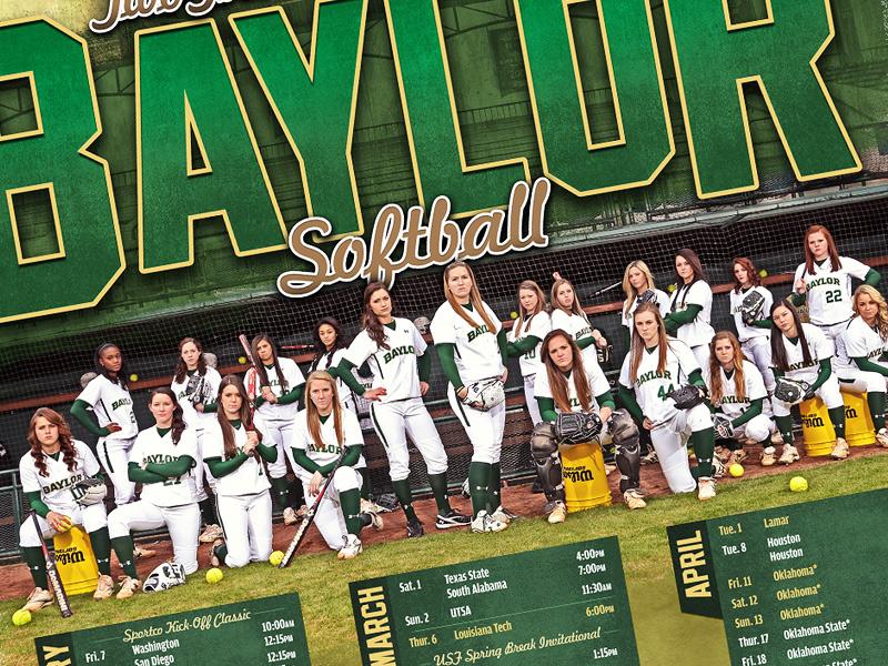 2014 Baylor Softball baylor softball waco ncaa logo sports college team bears university