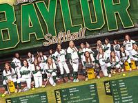 2014 Baylor Softball