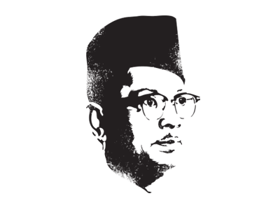 Tunku 1957 malaya hipster glasses face avatar vector illustration profile tunku merdeka malaysia afdzal ahmad