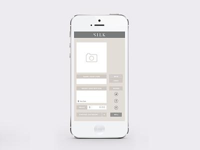 Item selling screen app design ui ux ios application interface user interface mobile app design login fashion