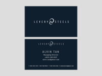 Levery Steels Business Card