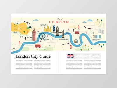 London City big ben freelancer designer kuala lumpur going places design graphic design magazine travel map london