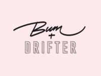 Bum + Drifter Logo