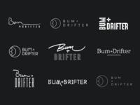 Bum + Drifter Logo Explorations