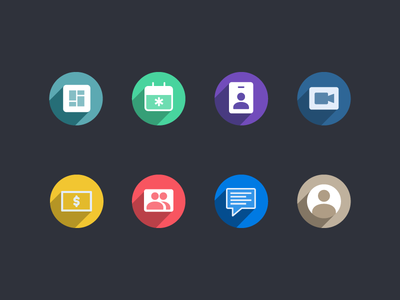 Icons color vector flat icon screen uiux ux ui button startup icons app