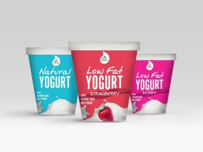 Yogurt Packaging Design