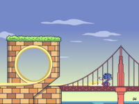 Sonic goes to San Francisco