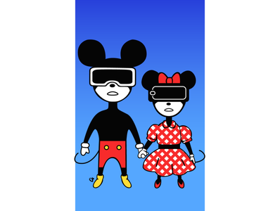 VR Mickey and Minne