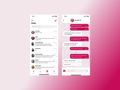 Direct Messaging App 013 uxdesign design ux ui dailyuichallenge dailyui