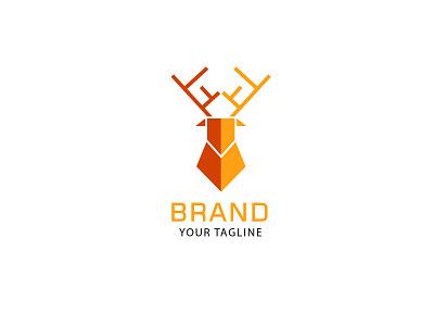 Deer Defend deer logo branding