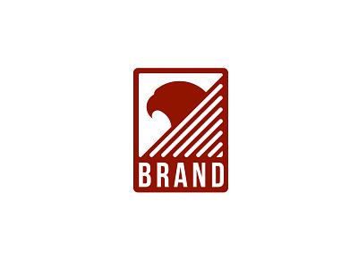 Eagle  Red branding vector design illustration logo 2d logo eagle
