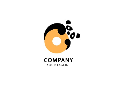 Panda vector illustration design logo