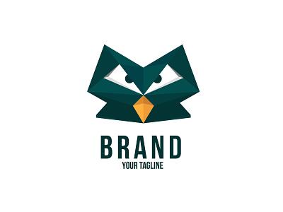 Owl vector illustration design branding logo