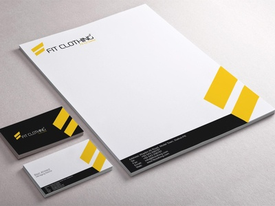 Fit Clothing Corporate Identity