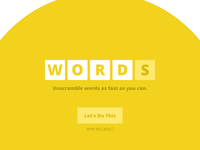 Words – Now With Yolk
